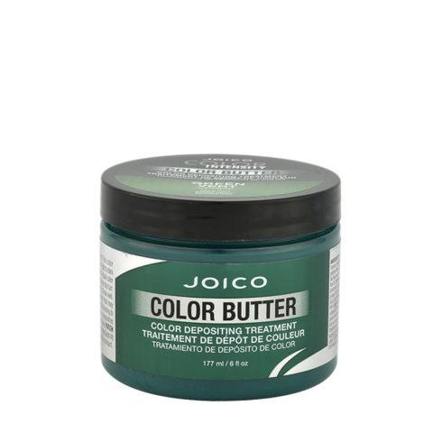 Joico Color Butter Green 177ml - masque de couleur vert temporaire
