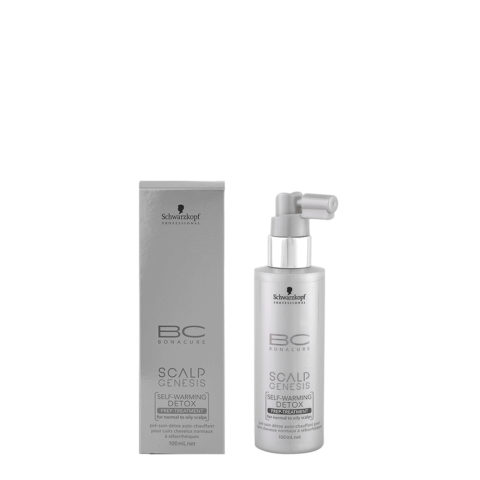 Schwarzkopf BC Bonacure Scalp Genesis Detox treatment 100ml - sérum détoxifiant pour peaux normales ou grasses