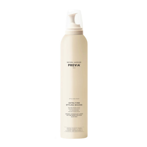 Previa Finish Organic Hydrolized Verbascum Thapsus Flower Mousse 300ml - mousse extra forte