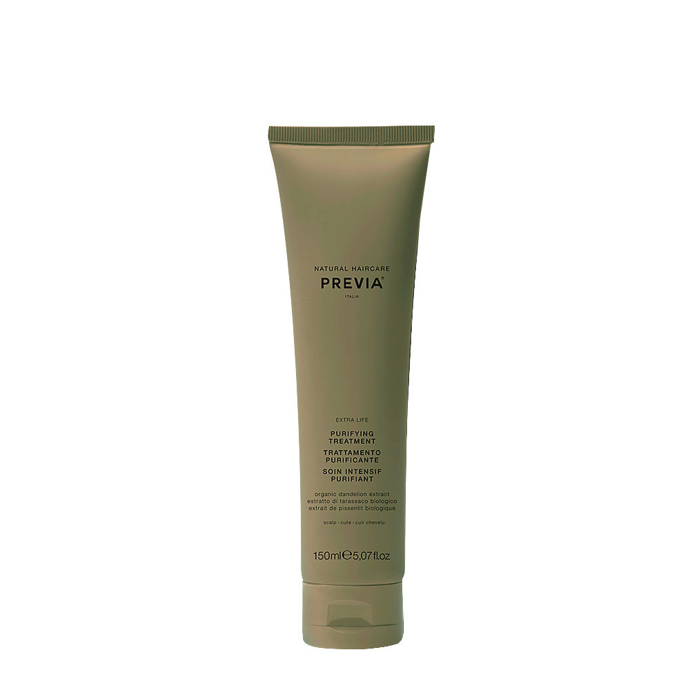 Previa Green Clay Purifying Treatment 150ml - argile purifiante