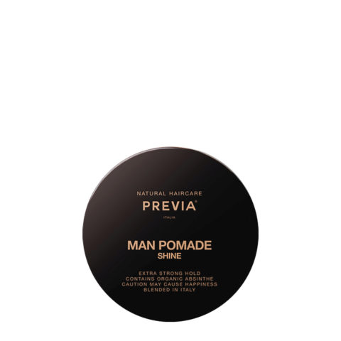 Previa Man Pomade Shine 100ml - forte tenue brillante