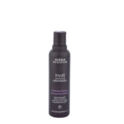 Aveda Invati advanced™ Exfoliating shampoo 200ml - exfoliant pour les cheveux fins