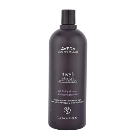 Aveda Invati advanced™ Exfoliating shampoo 1000ml - exfoliant pour cheveux fins