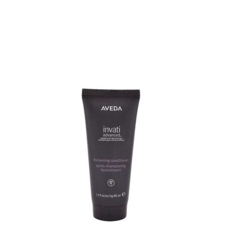 Aveda Invati advanced™ Thickening conditioner 40ml - épaississement pour cheveux fins
