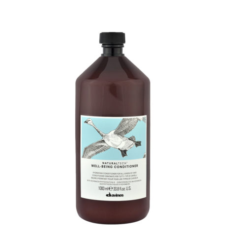 Davines Naturaltech Wellbeing Conditioner 1000ml - Conditionneur hydratant
