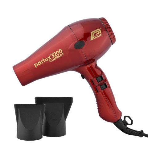 Parlux 3200 Compact - Sèche cheveux rouge