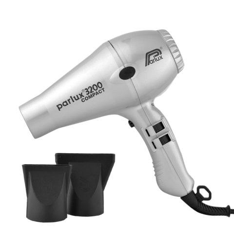 Parlux 3200 Compact - Sèche cheveux argent