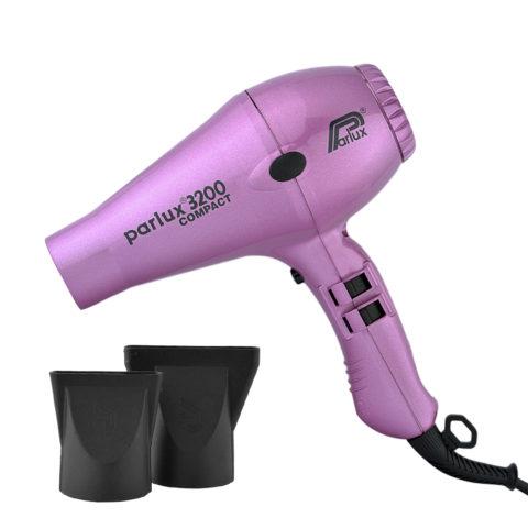 Parlux 3200 Compact - Sèche cheveux rose