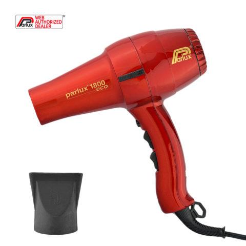 Parlux 1800 Eco edition - Sèche cheveux rouge