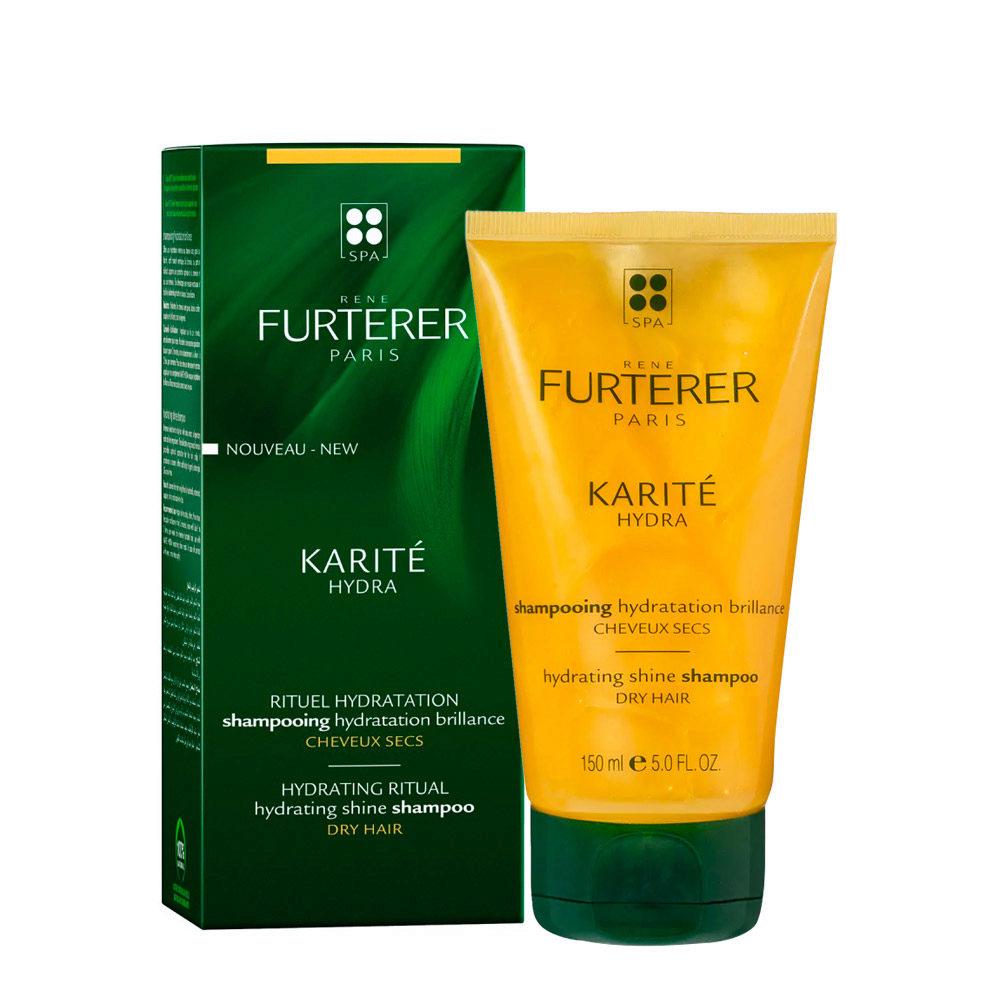 René Furterer Karité Hydrating ritual Shine Shampoo 150ml - Shampooing Hydratation Brillance