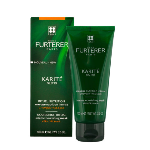 René Furterer Karité Intense Nourishing Mask 100ml - Masque nutrition intense
