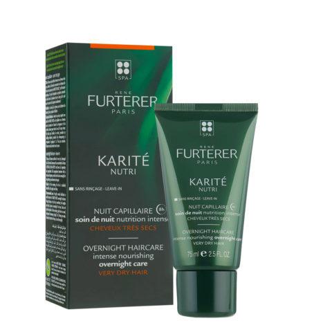 René Furterer Karité Nourishing Overnight Treatment 75ml - soin de Nuit capillaire
