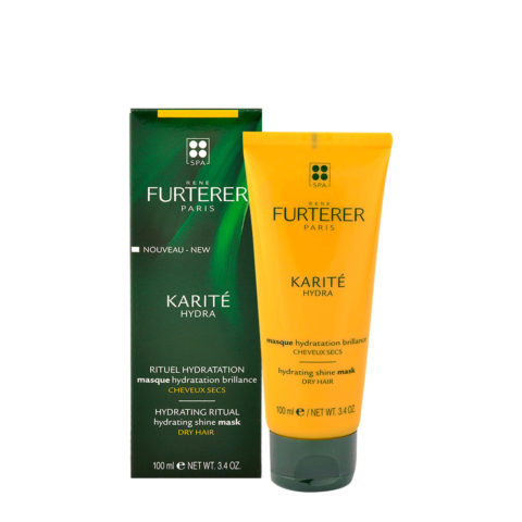 René Furterer Karité Masque Hydratation Brillance 100ml - Masque Hydratation Brillance