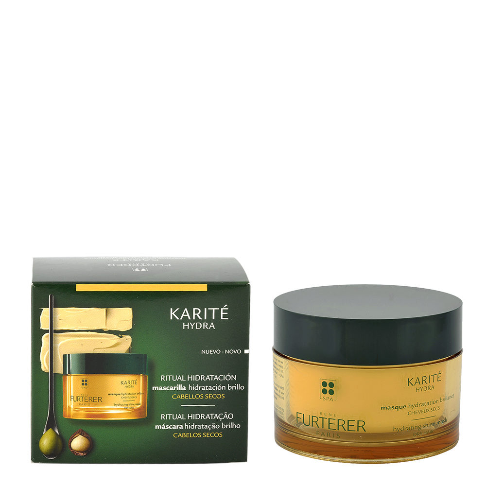 René Furterer Karité Masque Hydratation Brillance 200ml - Masque Hydratation Brillance
