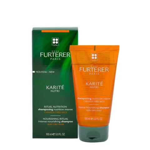 René Furterer Karité Shampooing Nutrition Intense 150ml - Shampooing nutrition intense