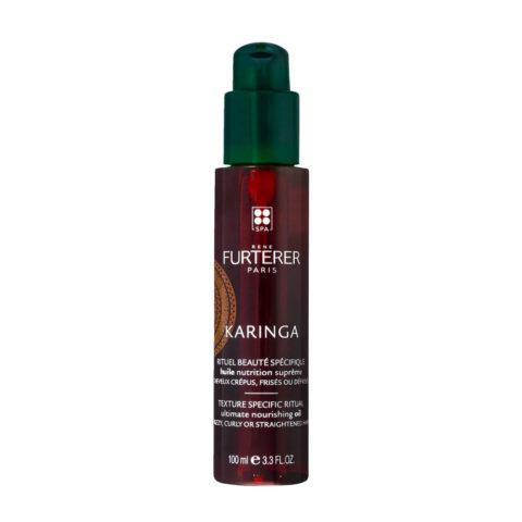 René Furterer Karinga Ultimate Nourishing Oil 100ml - huile nutrition suprême