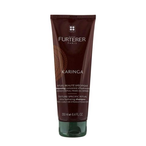 René Furterer Karinga Ultra Hydrating Shampoo 250ml - Shampooing concentré d'hydratation