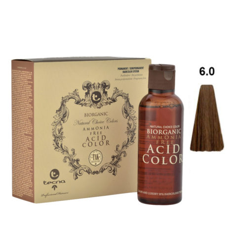 6.0 Blond foncé Tecna NCC Biorganic acid color 3x130ml