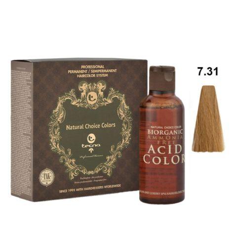 7.31 Blond moyen intense Tecna NCC Biorganic acid color 3x130ml