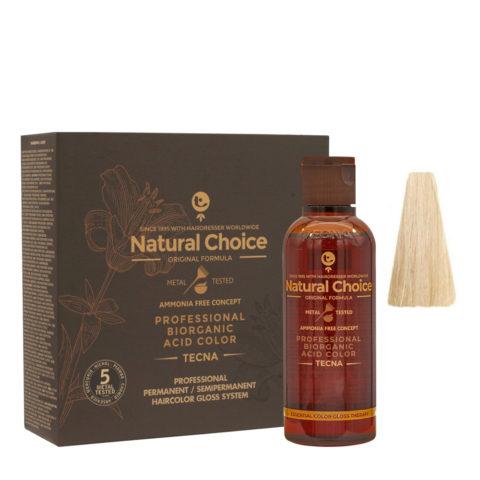 9.12 Blond trés clair beige Tecna NCC Biorganic acid color 3x130ml