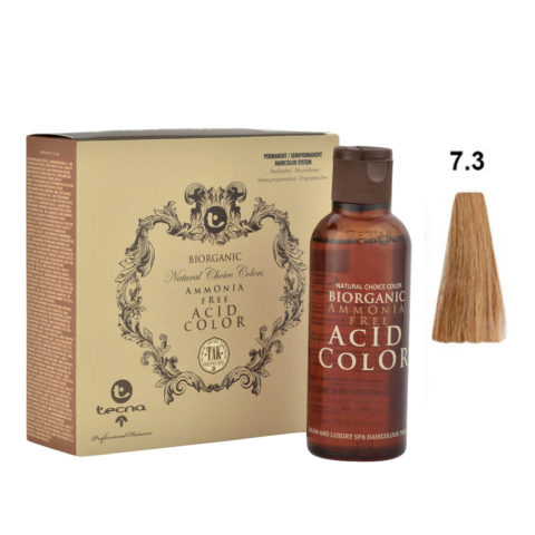 7.3 Blond moyen doré Tecna NCC Biorganic acid color 3x130ml