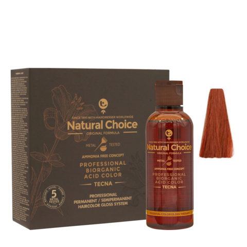 6.43 Blond foncé cuivré doré Tecna NCC Biorganic acid color 3x130ml