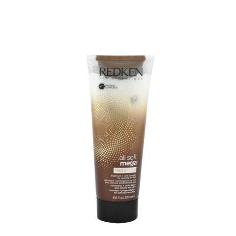 Redken All soft mega Megamask 200ml Traitement intensif pour cheveux gros à épais très secs