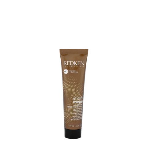 Redken All soft mega Conditioner 30ml - nourissant cheveux gros à épais très secs