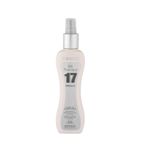 Biosilk Silk Therapy 17 Miracle Leave-In Conditioner 167ml - spray multi-usage