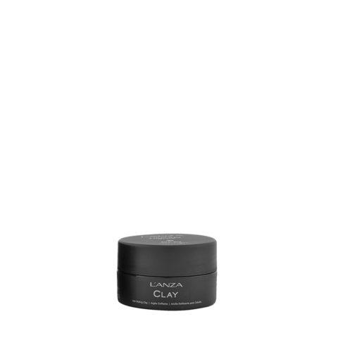 L' Anza Healing Style Clay 100ml - argile coiffant tenue forte
