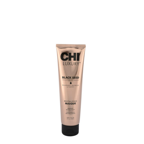 CHI Luxury Black seed oil Revitalizing masque 147ml - masque cheveux endommagés