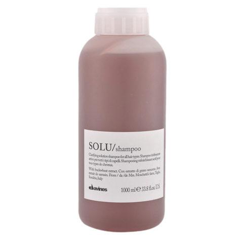 Davines Essential hair care Solu Shampoo 1000ml - Shampooing rafraîchissant
