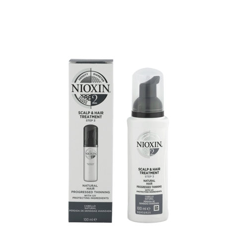 Nioxin System 2 Scalp & hair Treatment 100ml - Spray antichute