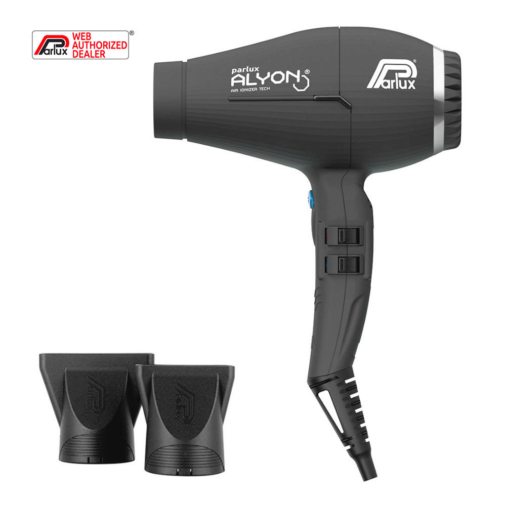 Parlux Alyon Air ionizer tech Eco friendly Matt noir - Sèche cheveux