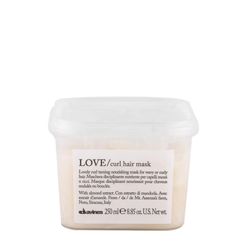 Davines Essential haircare Love curl hair mask 250ml - masque pour cheveux bouclés