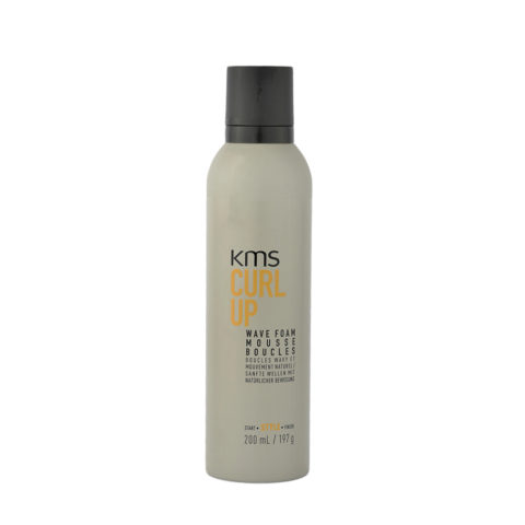 Kms California CurlUp Wave Foam Mousse boucles 200ml