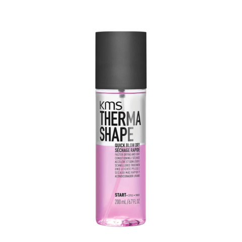 Kms Therma Shape Quick blow dry 200ml - lotion de séchage