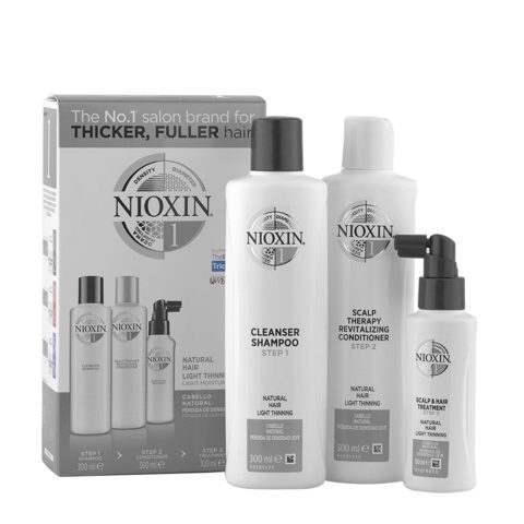 Nioxin System1 Kit Complet XXL Antichute