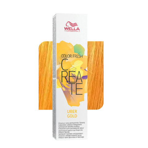 Wella Color fresh Create Uber gold 60ml