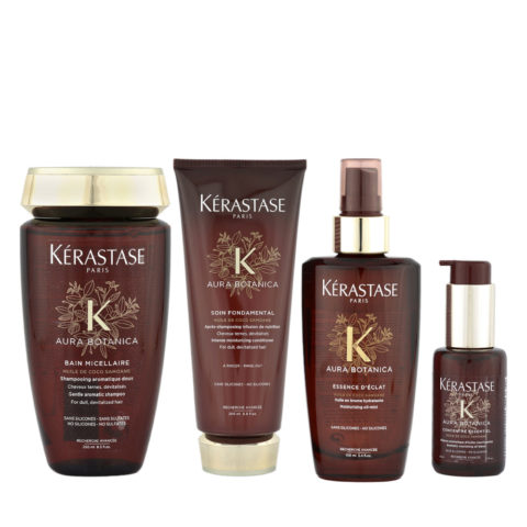 Kerastase Aura Botanica Bain Micellaire 250ml Soin 200ml Essence 100ml Concentre 50ml