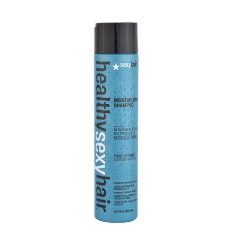 Healthy Sexy Hair Moisturizing Shampoo 300ml - shampooing hydratant sans sulfates