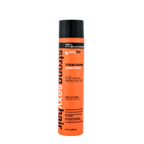 Strong Sexy Hair Strenghtening conditioner 300ml - baume réstructurant