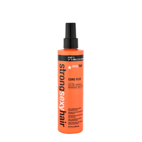 Strong Sexy Hair Core flex 250ml - spray restructurant sans rinçage