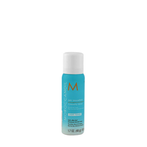 Moroccanoil Dry shampoo Light tones 65ml - Shampooing sec tons clairs