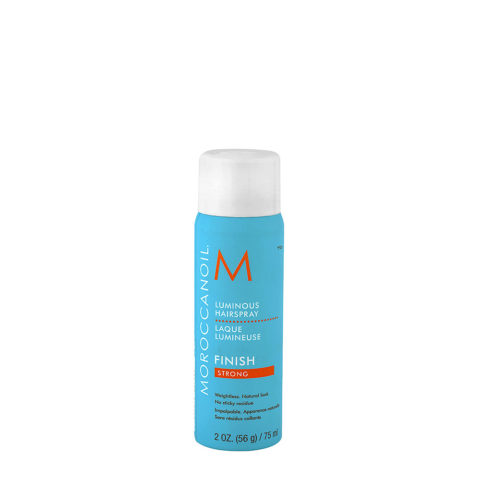 Moroccanoil Luminous Hairspray Finish Strong 75ml - fixation forte