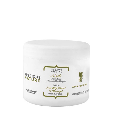 Alfaparf Precious nature Mask with Prickly pear & orange pour cheveux longs/lisses 500ml