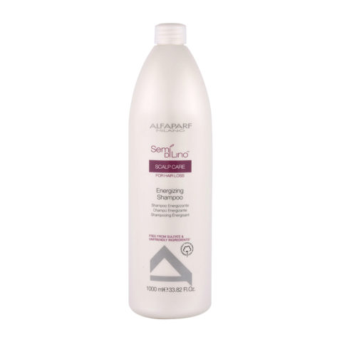 Alfaparf Semi di lino Scalp care Energizing shampoo 1000ml - shampooing energisant