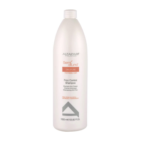Alfaparf Semi Di Lino Discipline Frizz Control Shampoo 1000ml - Shampooing Anti-Frisottis