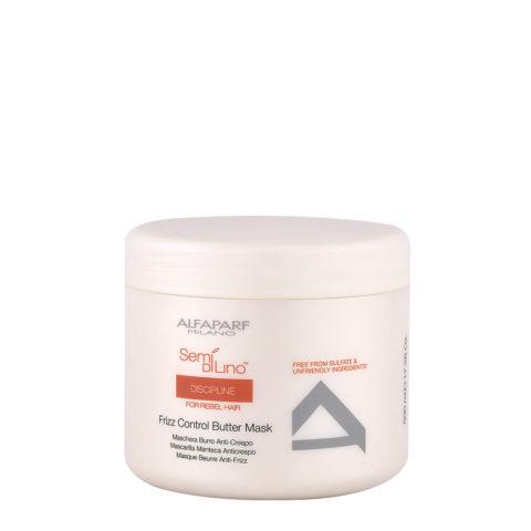 Alfaparf Semi Di Lino Discipline Frizz Control Butter Mask 500ml - Masque Anti-Frisottis