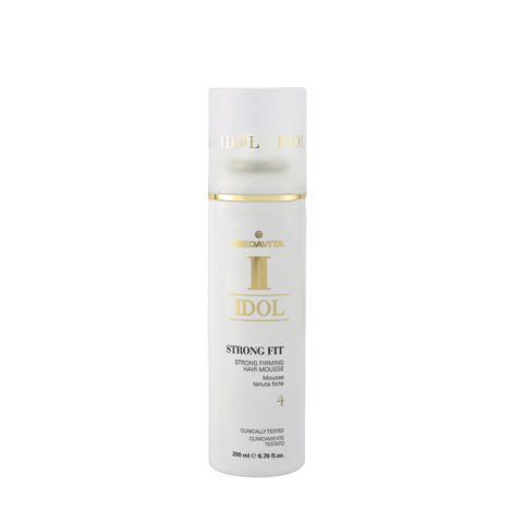 Medavita Idol Texture Strong Fit Strong Firming Hair Mousse 200ml - mousse à tenue forte